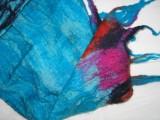 sjaal, zijde-merinowol